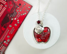 Load image into Gallery viewer, Apple Charm Necklace #1