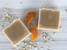 Load image into Gallery viewer, Blood Orange & Oats Soap