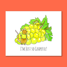 Load image into Gallery viewer, Grapeful 8X10 Art Print