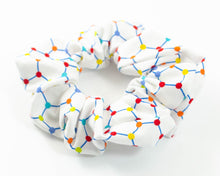 Load image into Gallery viewer, handmade chemistry graphene scrunchie
