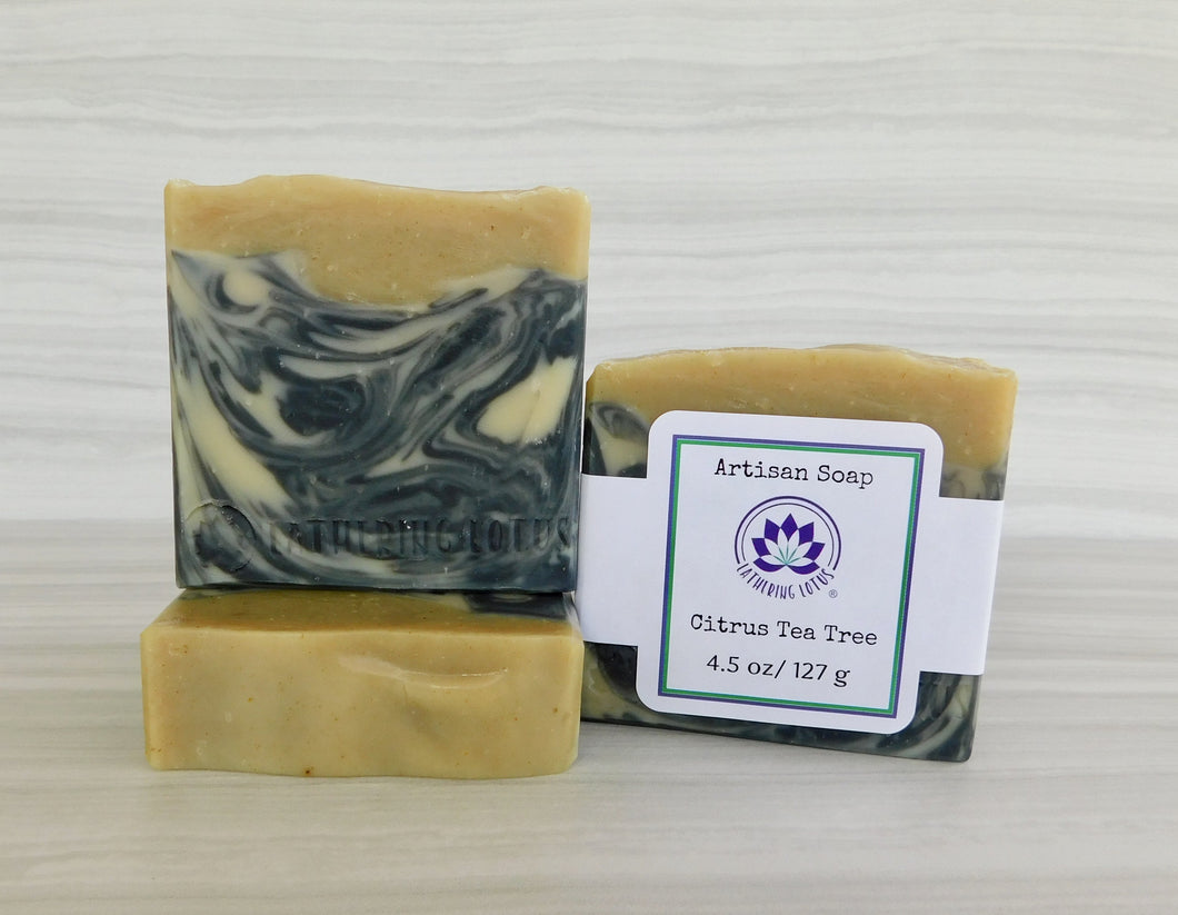 Citrus Tea Tree Soap
