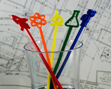 Load image into Gallery viewer, Scientific Adventure Swizzle Stick Set - Rainbow