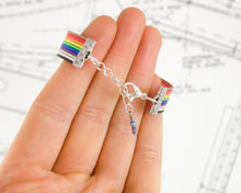 Load image into Gallery viewer, Ribbon Cable Adjustable Bracelet with Resistor