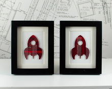 Load image into Gallery viewer, Mini Rocket Framed Art