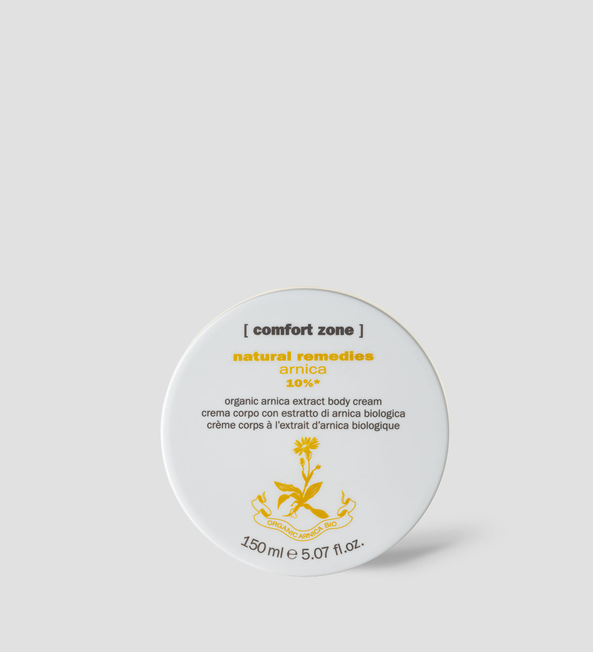 Comfort Zone: NATURAL REMEDIES ARNICA 10% Organic arnica extract body treatment cream-1