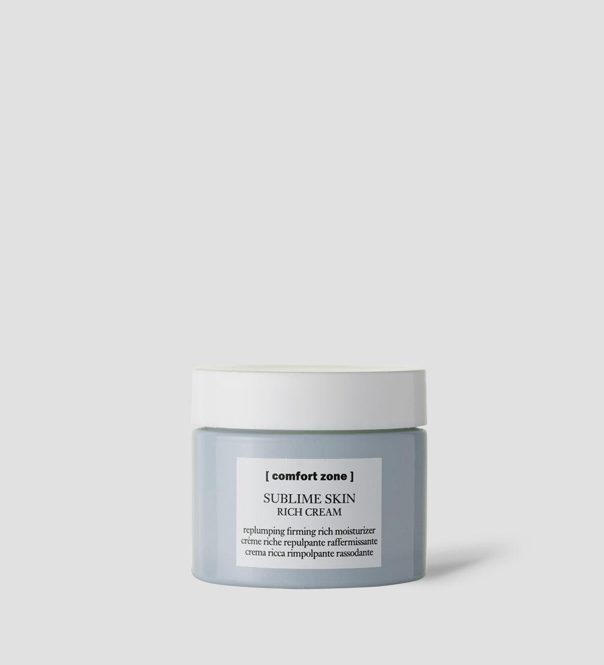 Comfort Zone: SUBLIME SKIN RICH CREAM Replumping firming rich moisturizer-1