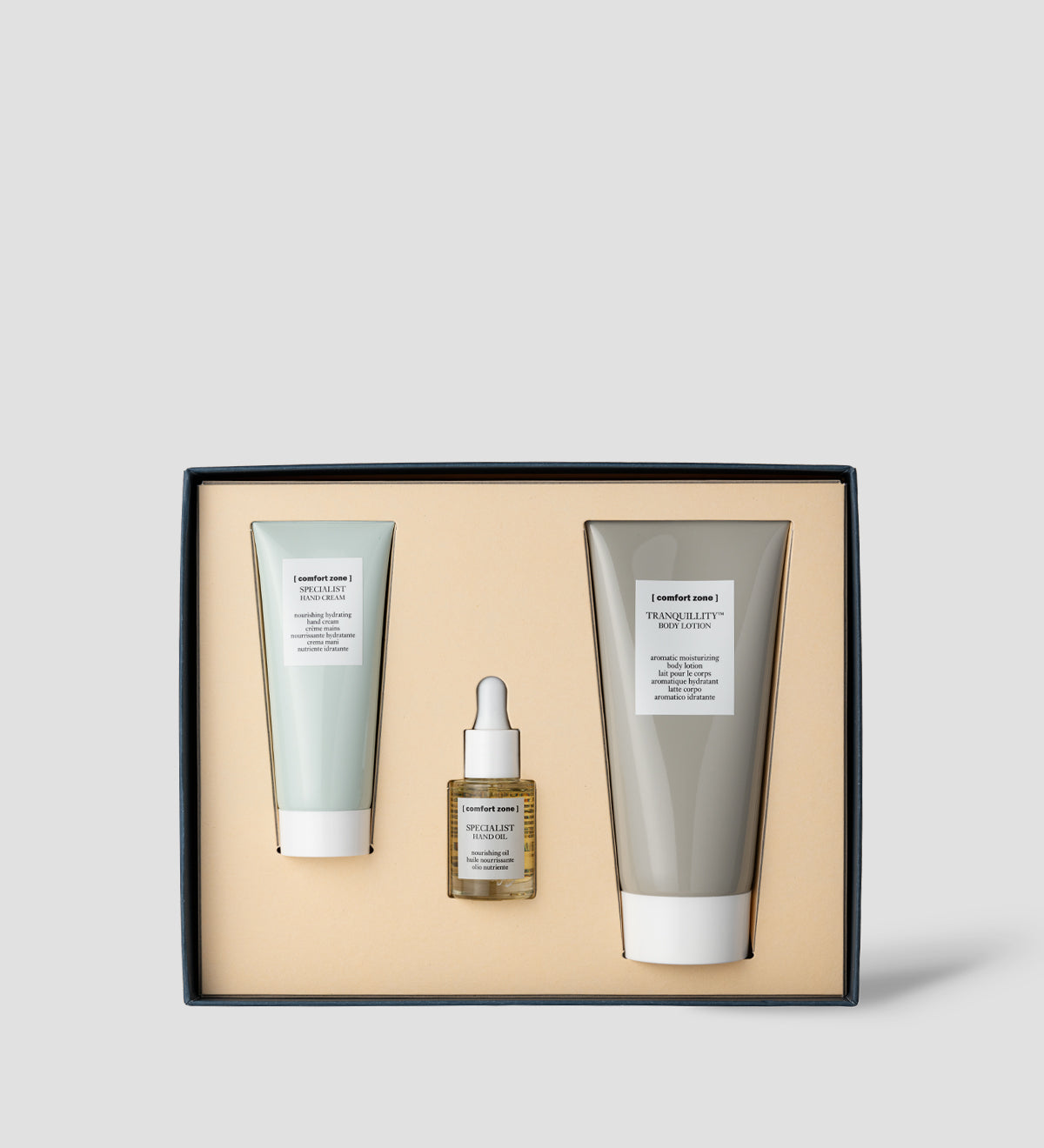 Comfort Zone:  HAND & BODY RITUAL KIT Nourishing hydrating kit-1