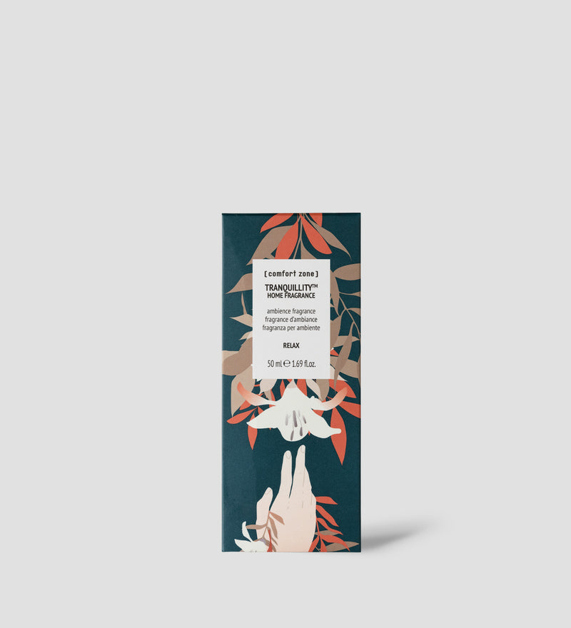 Comfort Zone:  TRANQUILLITY Home fragrance packaging-3