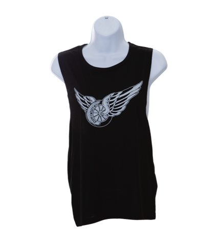 Women's Muscle Wingwheel Tank Top