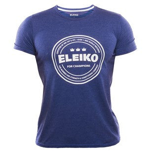 Eleiko Men's Tri-blend Shirt in Navy
