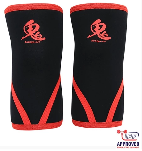 Bukiya ONI Knee Sleeves (IPF Approved)