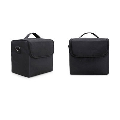 High Quality Professional Makeup Cosmetic Bag Large Capacity Storage case Multilayer Suitcase