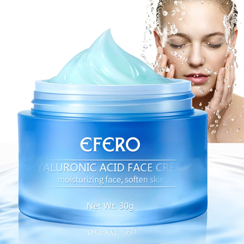 Hyaluronic Acid Whitening Cream for Face Day Cream Moisturizer Wrinkle Cream Face Skin Whitening Cream Anti Aging Face Creams