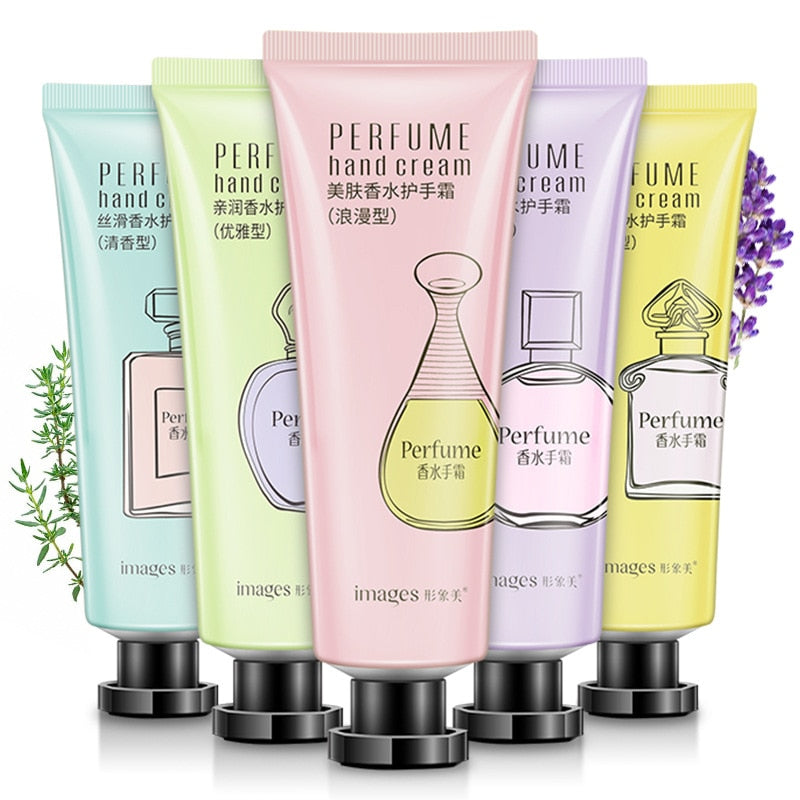Fresh Natural Flower Extract Perfume Hand Cream Hand Massage Lotion For Women Lavender Anti-cracking Nourishing Mild Hand Care