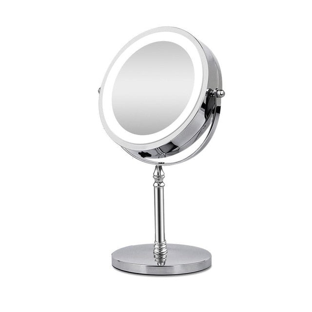 Magnifying Makeup Mirror w/ LED Light