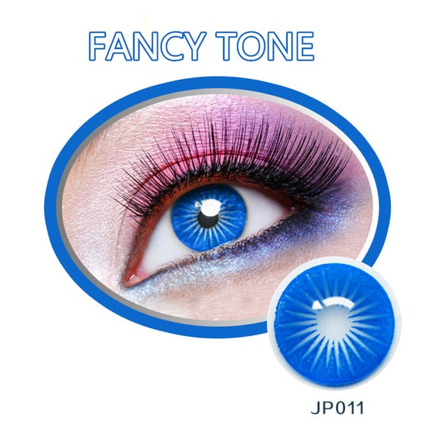 1 Pair (2pcs) Cosplay Colored Contact Lenses