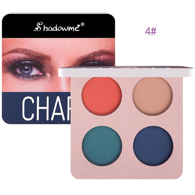 Matte Eye Shadow Palette Makeup Shimmer Pigment Waterproof Mineral Balm Shade Cosmetic Professional Eyeshadow Pallete ##0