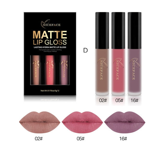 Sexy Matte Liquid LipSticks