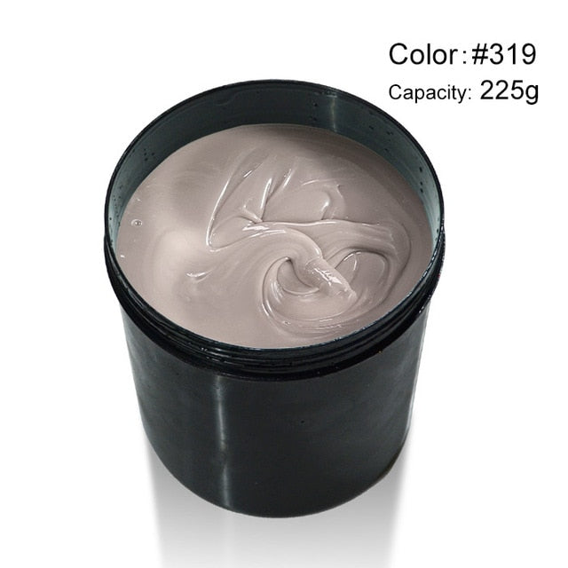 nail thin Builder Gel 8 oz  225 g Extension French nails 25 Colors Soak Off UV led Varnishes Camouflage nail gel tips topcoat