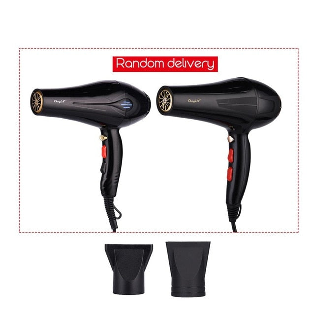 5000W Negative Ion Hair Dryer Professional Blue Light Anion Blow Dryer Salon Hair Styling Hairdryer 2 Speed 3 Heat Settings 31