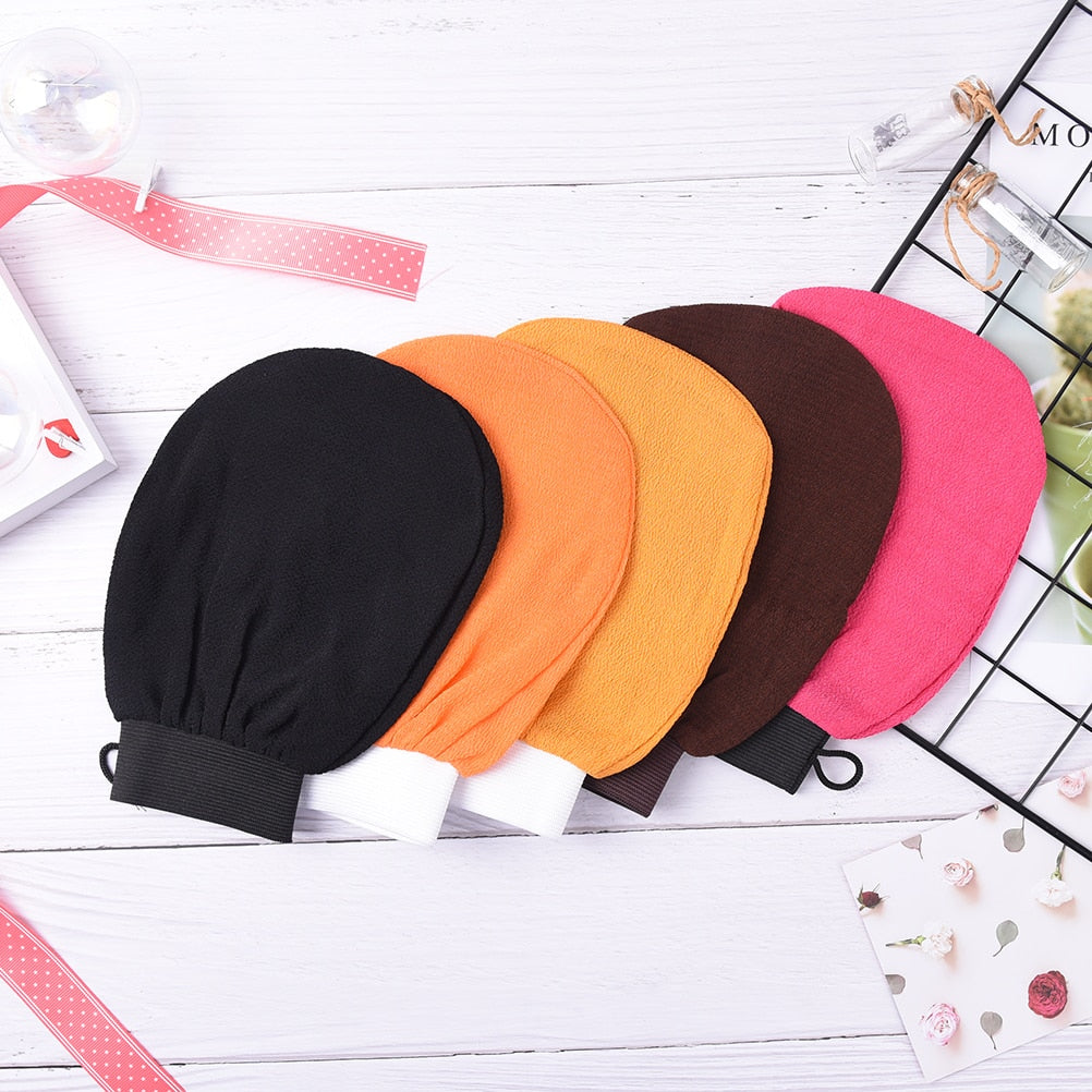 1X Hammam Shower Thicken Bath Magic Peeling Glove Exfoliating Tan Removal Kessa Bathing Cleaning Products