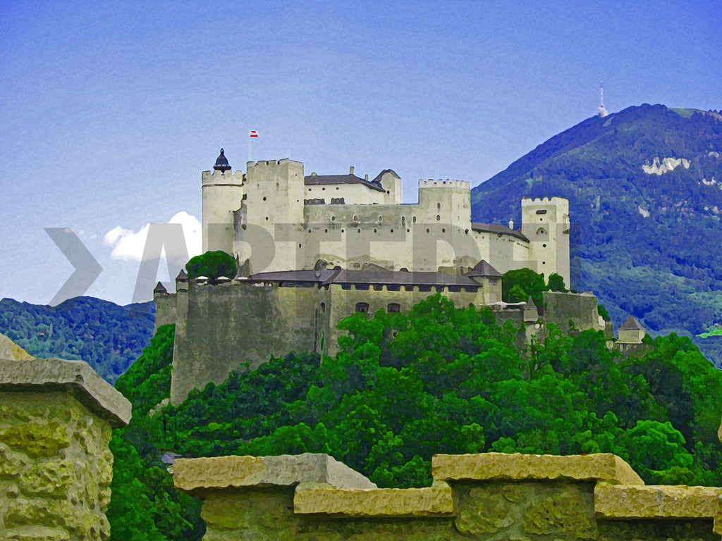 City of Salzburg - New painting series