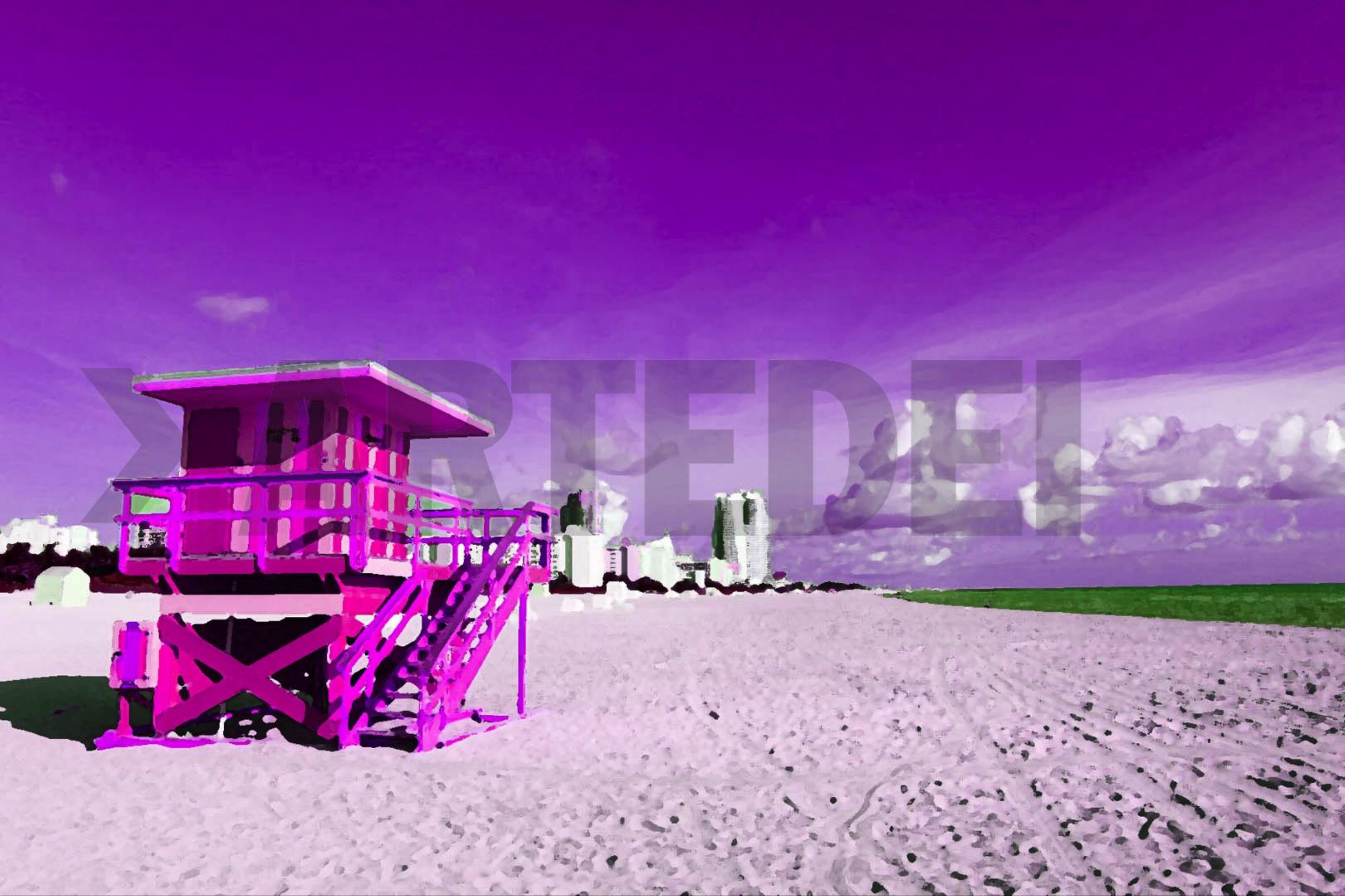 Product image of ARTIST-CHRISTIAN-TREBOR, COLLECTION-AMERICAN-LANDSCAPES, SERIES-MIAMI-BEACH