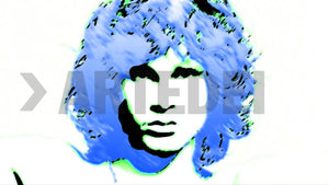 Product image of ARTIST-GEORG-EVALIS, COLLECTION-CELEBRITIES, SERIES-JIM-MORRISON