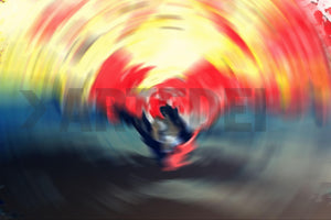 Product image of ARTIST-ANDREA-HOPF, SERIES-PSYCHEDELIC-BLUR