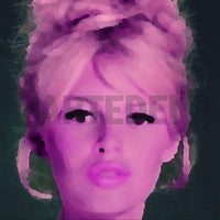 Product image of ARTIST-GEORG-EVALIS, COLLECTION-CELEBRITIES, series-bardot-kiss, SERIES-BARDOTKISS