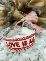 "Armband ""LOVE IS ALL"""