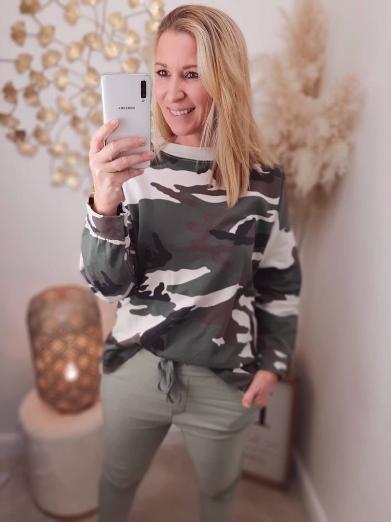 "Pullover ""Camouflage"""