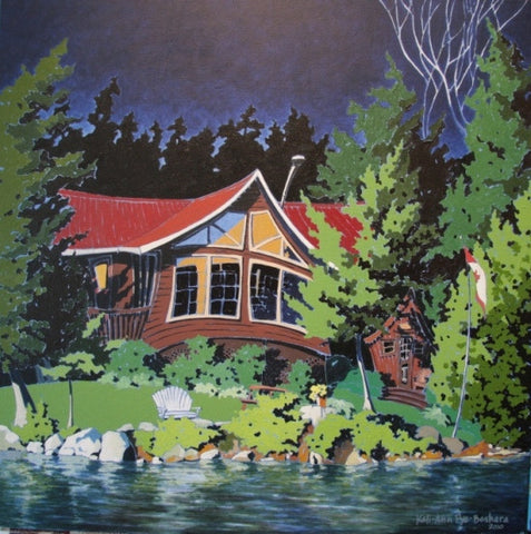Cottage Moon - Ontario