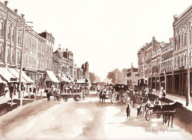 Main Street Collingwood, Ontario - South 1890s
