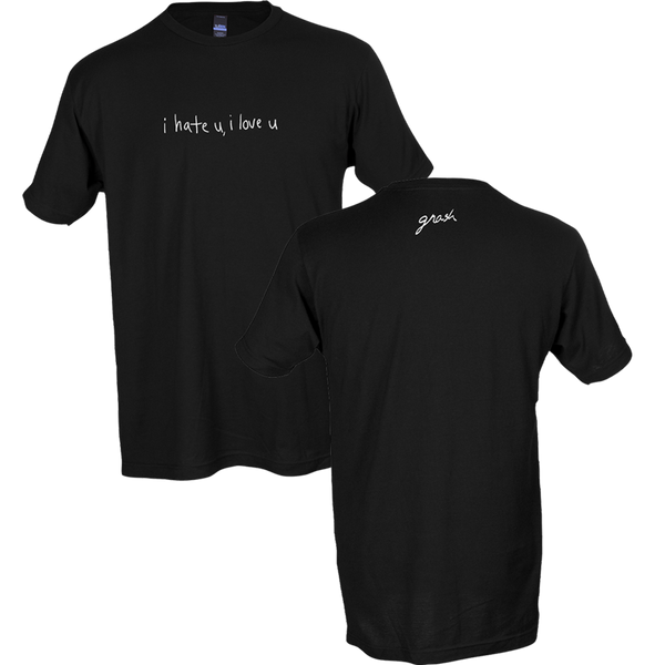 i hate u, i love u t-shirt