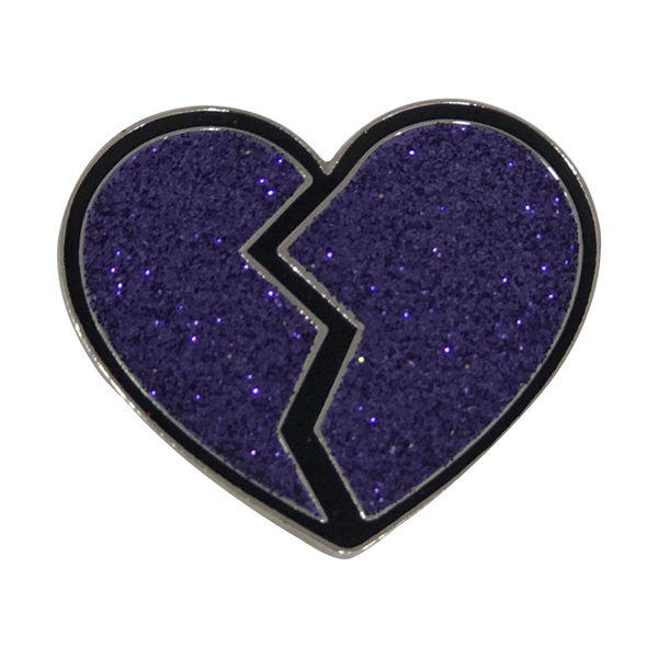 broken heart pin