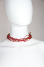 Load image into Gallery viewer, RED Choker Necklace