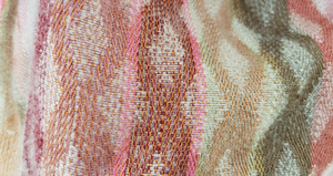 detail of warm cowl with merino wool and silk at Bettlehouse