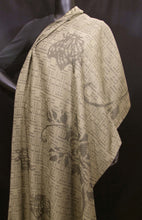 Load image into Gallery viewer, Gold Nature Silk Shawl