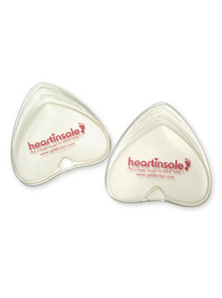 Heart Insole Clear - Size Large HS2004