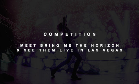 SEE BRING ME THE HORIZON LIVE IN LAS VEGAS