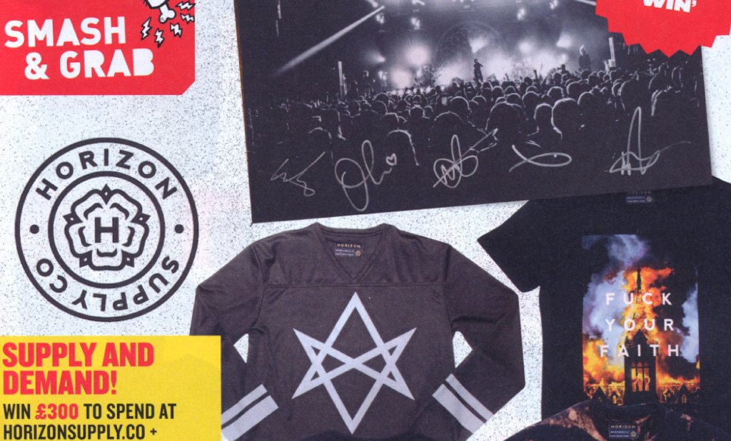 WIN A HUGE HORIZON SUPPLY BUNDLE WITH ROCK SOUND MAGAZINE