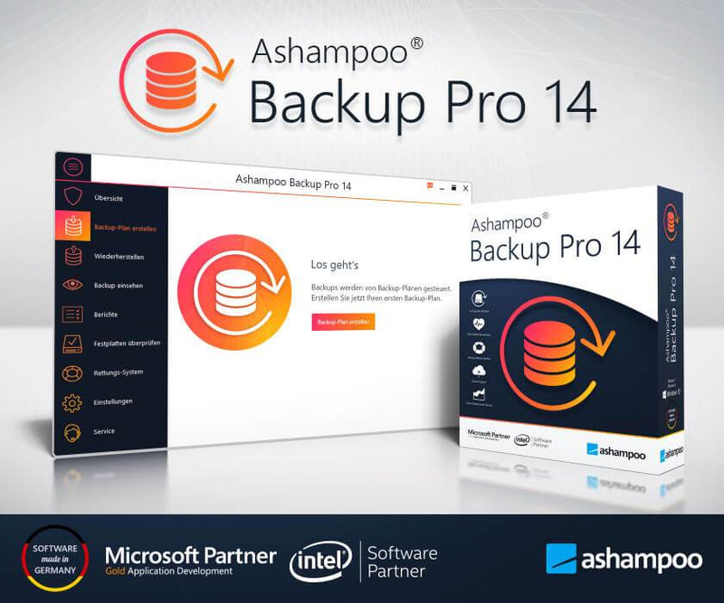 Ashampoo Backup Pro 14 ESD - Best4software