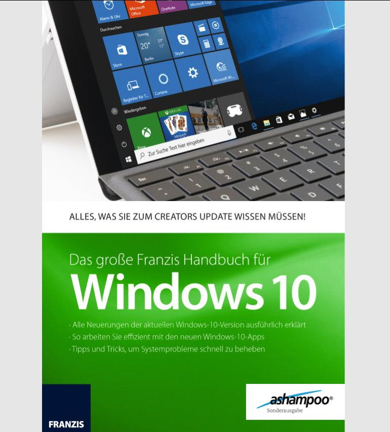 Ashampoo Handbuch für Windows 10 - FC Update ESD - Best4software