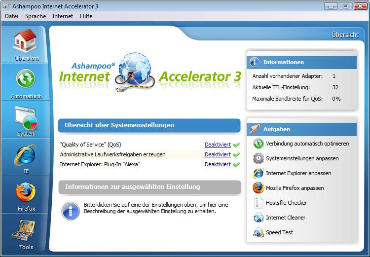 Ashampoo Internet Accelerator 3 ESD - Best4software