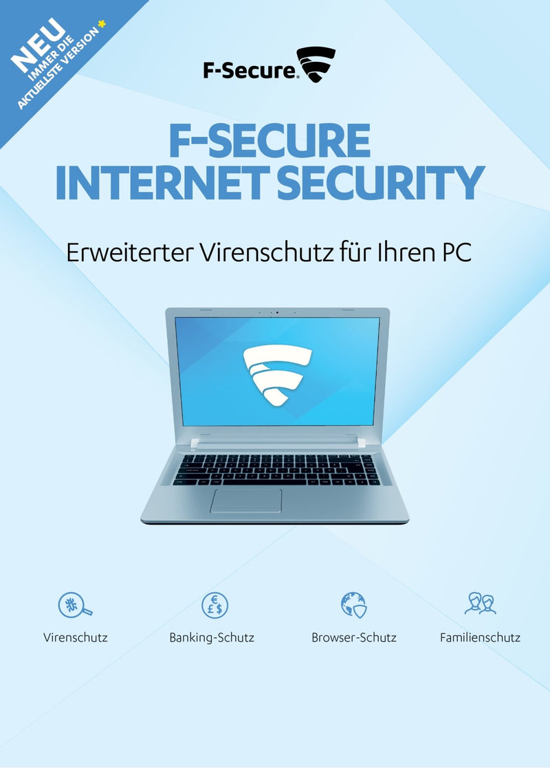F-Secure Internet Security 2020 1 PC 1 Jahr ESD - Best4software