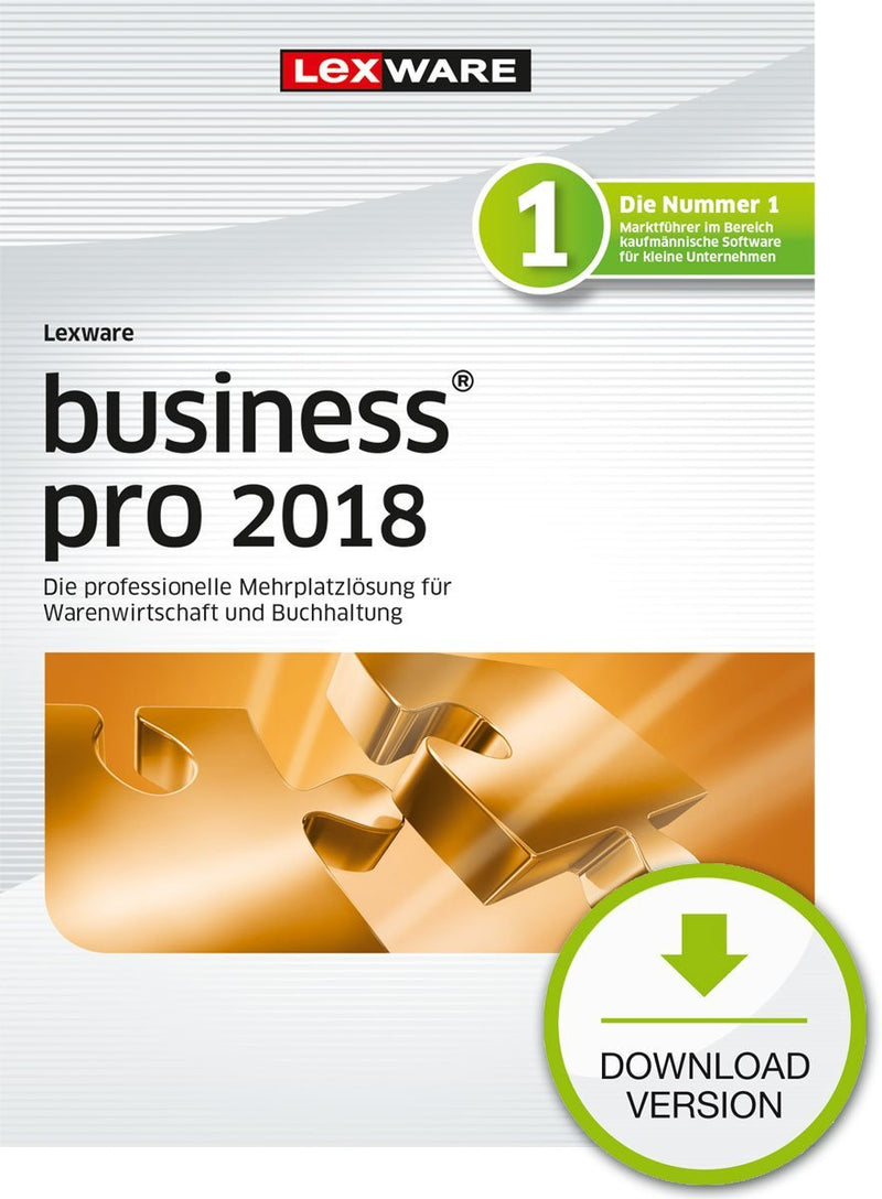 Lexware business pro 2018 Jahresversion (365-Tage) ESD - Best4software