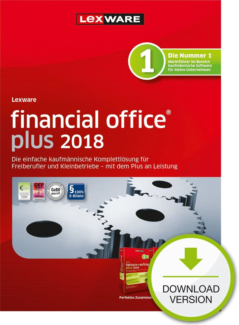 Lexware financial office plus 2018 Jahresversion (365-Tage) ESD - Best4software