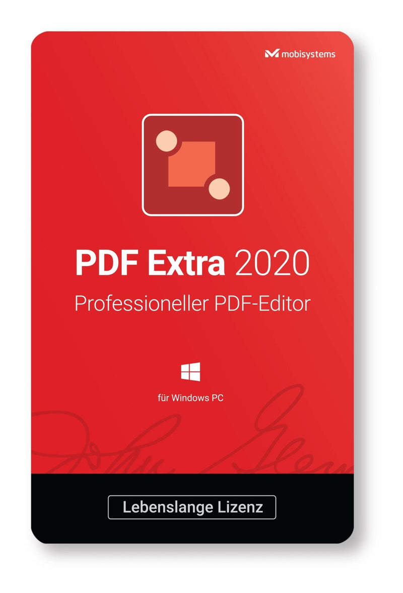 MobiSystems PDF Extra Editor 2020 (Lifetime) ESD - Best4software