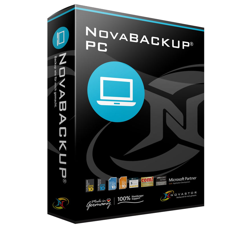 NovaBACKUP® PC v19 inkl. 1 Jahr NovaCare ESD - Best4software